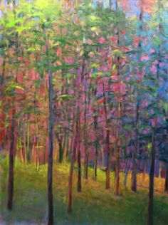 Ken Elliott Forest LIght oil 40 x 30 inches.jpg (1250×1677)