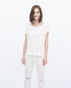 White T-shirt $13