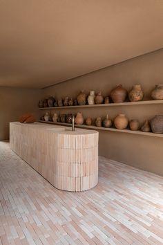 This São Paulo yoga studio's sandy palette evokes 'ancient forms of construction'