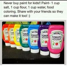 Great idea for making paint DIY... Will def try this