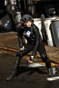 Camren Bicondova as a young Selina Kyle in the new Gotham TV series