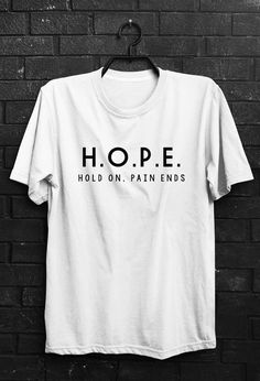 Hope shirt hope t shirt Funny quote t shirts by quoteshirt on Etsy