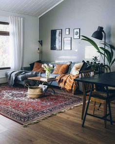 room decor apartment Masculine Interior and Decorating Inspiration with Colors Beyond Black And Charcoal: The Modern Man's Guide To Decorating With Color And Texture Small Living Room Furniture, Cozy Living Rooms, Living Room Interior, Apartment Living, Living Room Decor, Tiny Living, Salons Cosy, Masculine Interior, Masculine Home Decor
