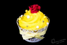 Belle- Beauty and the Beast Cupcakes