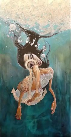 Melanie Jai's art is a visual documentary of her experiences as a mother with a child with Autistic Spectrum Disorder Aspergers, Asd, Lost In Translation, Sea Art, Creative People, Magick, Autism, Anchor, This Is Us