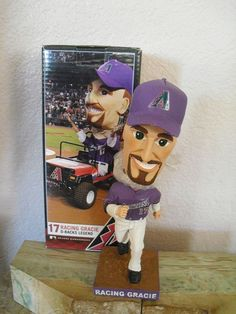 Mark Grace, Racing Gracie Arizona Diamondbacks Legend, Bobble Head, 2011. | Sports Mem, Cards & Fan Shop, Fan Apparel & Souvenirs, Baseball-MLB | eBay!