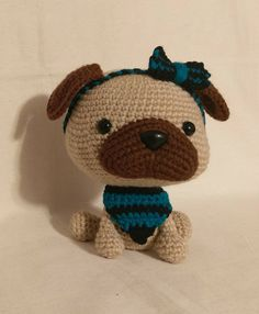 Excited to share the latest addition to my #etsy shop: Amigurumi Piper the Pug - Amigurumi Crochet Puppy - READY TO GO http://etsy.me/2nnchAr #toys #crochet #toy #amigurumi #stuffedtoy #mixedkreations #yarnsociety #plushie #pug