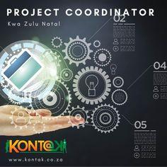 IT Project & Finance Coordinator (JB379) Durban Western Suburbs R20 000 – R25 000 Per Month