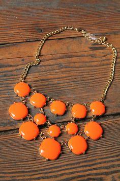 statement necklace! #TiaAndTamera #Inspiration