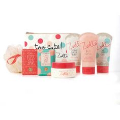 Read the drawer post i already pinned this in cuz i love all these and it all comes in the reuseable drawer! So cjte! Zoella Awesome Drawersome Bathing Collection
