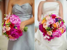 colorful : modern day floral