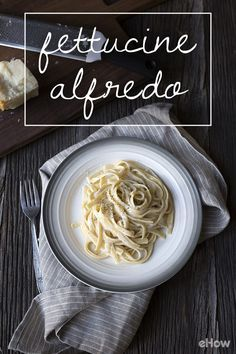 Simple and classic fettucine alfredo. This recipe keeps it traditional and delicious with every bite. Dinner is served! Recip here: http://www.ehow.com/how_13687_make-southern-sausage.html?utm_source=pinterest.com&utm_medium=referral&utm_content=freestyle&utm_campaign=fanpage
