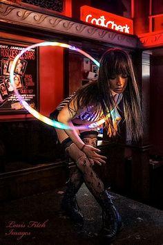 love this shot of the lovely Michelle Bell... hoop goddess<3