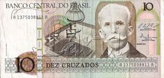 10 CRUZADOS 1986 BRAZILIAN.... I love baknotes... And i want to collect them...