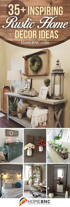Shabby Chic Decor Easy Tips Tricks - Impressive suggestions to make a really first rate shabby chic home decor rustic Clevertips posted on this wonderful day 20190209 , note reference 6403906365 Diy Home Decor Rustic, Easy Home Decor, Home Decor Styles, Home Decor Bedroom, Home Decor Accessories, Cheap Home Decor, Country Decor, Decorative Accessories, Bedroom Ideas