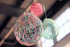 Esferas de hilo! | Manualidades Gratis