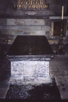 Tomb of the Venerable Bede  Durham Cathedral, England