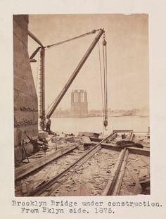 The Construction of the Brooklyn Bridge