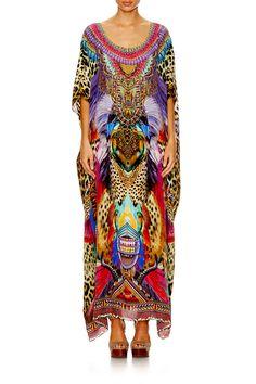 b251ae00ce ... ROUND NECK KAFTAN - Dresses   Kaftans - Collection
