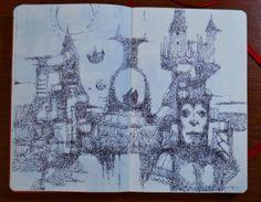 White Snow's Planet Michele Petrelli art #art