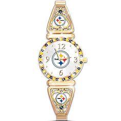 Watch: My Pittsburgh Steelers Ultimate Fan Women's Watch