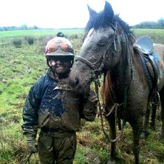 Things Horses Do...sometimes they don't stay clean even on a ride. How was your ride? :]