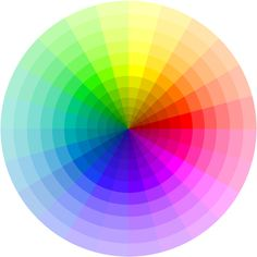 "free colour wheel Photoshop PSD File -- ""You'll be able to specify the colors you want. Each wedge can be colored individually"" (by Suzanne Ahjira - Creative Commons Attribution-Share Alike license)"