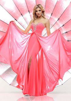 US$146.99 Wholesale A-line Sweetheart Pink Long Prom Dress /Formal Dress/Evening dress Davinci 71330 from - US.homecomingnightgirl.com