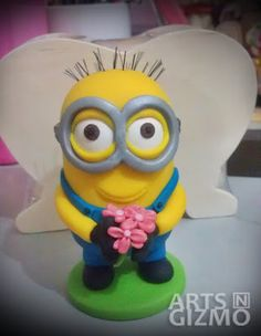 Will you marry me? Minion. About 4 inches tall