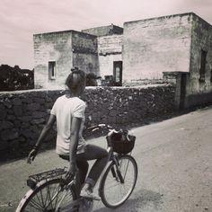still Favignana and the bike takes you literally everywhere