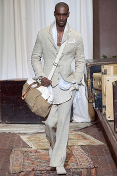Joseph Abboud SS17.  menswear mnswr mens style mens fashion fashion style josephabboud runway