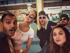 #TheMagicians cast on the way to San Diego for Comic-Con (via ArjunGuptaBK on Twitter)