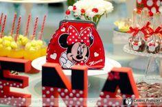Festa Minnie | Nivea Vieira Eventos - Descoração de Festa Infantil, Decoração para Maternidade Decoração de Eventos
