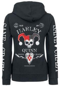 Sane & Crazy - Vest met capuchon van Harley Quinn