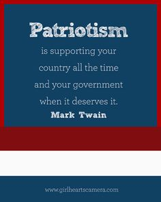 mark twain essay on patriotism Mark twain an englishman is a person who does things because they have been done before an american is a person who does things because they haven't been done before.