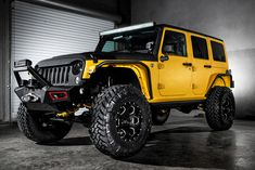 Jeep Wrangler Yellow Jacket by Starwood Motors 3
