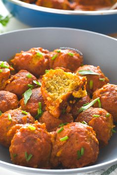 Vegan Tempeh Meatballs | simpleveganblog.com #simpleveganblog #vegan #recipe