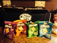 Enjoy Life Plentils chips are great for people with food allergies. These are gluten free and casien free!!!