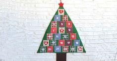 Abeto Calendario de Adviento - Luminaria Regalos -19,50€ Advent Calendar, Holiday Decor, Home Decor, Scrappy Quilts, Fir Tree, Births, Nativity Scenes, Presents, Xmas