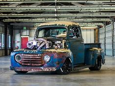 This 1233 Hp Diesel-Nitrous 1949 Ford F-1 Truck Is Seriously Insane