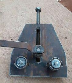 Welding Shop, Diy Welding, Welding Tools, Metal Bending Tools, Metal Working Tools, Metal Projects, Welding Projects, Cool Tools, Diy Tools
