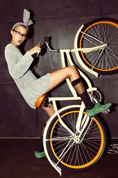 Bike tricks.