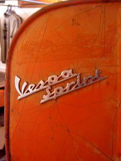 Vespa Sprint -Before-