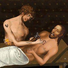 Il transforme des tableaux de la Renaissance en gifs irrévérencieux - 7 août 2014 - L'Obs