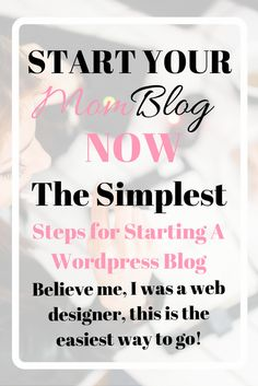 I started my mom blog just a few months ago. I had been thinking about starting a blog for a long time. I wanted to share my thoughts, tips, failures and favorite things. I wanted to pursue and develop my writing. I was scared to start a blog. I was scared no one would read it. I was scared all I would hear were crickets…I was silly. Every mom should have a blog, and its super easy to set yourself up with one. I'll give you the run down of why you need a blog as well as the quick and dirty…