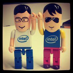 Buuuuum. Bum, bum,bum, bum! #Intel