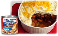 - Easy Sheperd's Pie Recipe - made with canned beef stew and instant mashed potatoes -  Extra Easy and Quick -