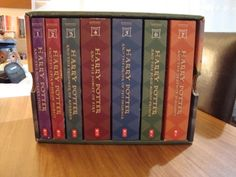 Harry Potter Paperback Box Set (Books 1-7): J. K. Rowling: 9780545162074: Amazon.com: Books