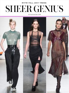 nyfw trends fall 2017 sheer