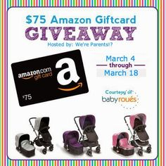 $75 Amazon Gift Card Giveaway